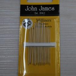 """Rankinės adatos ,,John James"""""""