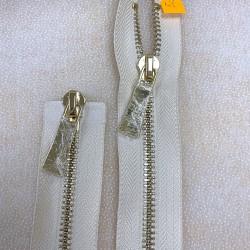 Metalinis 57cm ilgio užtrauktukas