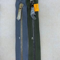 Metaliniai 73cm ilgio užtrauktukai