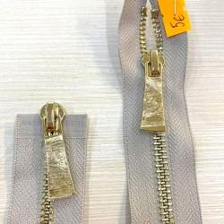 Metalinis 41cm ilgio užtrauktukas